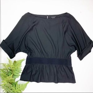 🖤 NWT Theory Silk Dolman Sleeve Dorris Top 🖤